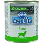 Vet Life консервы для собак ренал (паштет)