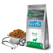 VL диета корм для собак ренал