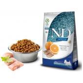N&D OCEAN для собак MINI сельдь с апельсином