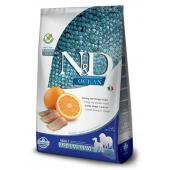 N&D Ocean Adult MEDIUM/MAXI Herring & Orange (сельдь с апельсином) сухой беззерновой корм для взрослых собак средних и крупных пород