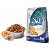 N&D OCEAN PUMPKIN корм для собак MINI, треска c апельcином и тыквой