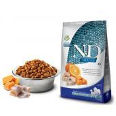 N&D OCEAN PUMPKIN корм для собак MEDIUM/MAXI, треска с апельcином и тыквой