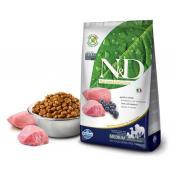 N&D PRIME корм для собак MEDIUM/MAXI, ягненок с черникой