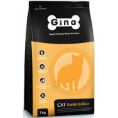 Cat Denmark Rabbit & Rise сухой корм для взрослых кошек с нормальной активностью