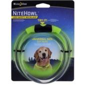 Ошейник светящийся для собак Nite Howl, 30.5-68.5см зеленый