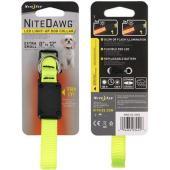 Светящийся ошейник NiteDawg XS для миниатюрных собак 20.3-30.6см, желтый
