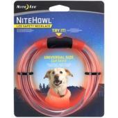 Ошейник светящийся для собак Nite Howl, 30.5-68.5см красный