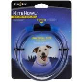 Ошейник светящийся для собак Nite Howl, 30.5-68.5см синий