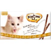 Лакомые палочки  для кошек с цыпленком и уткой 10шт*5г