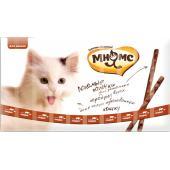 Лакомые палочки  для кошек с говядиной и печенью 10шт*5г