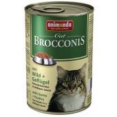 Консервы  для кошек Brocconis с дичью и домашней птицей (Brocconis Cat With Game + Poultry)