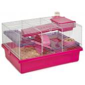 Клетка для мелких грызунов PICO РОЗОВАЯ, 50*36*29 см