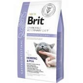 Brit Veterinary Diet Cat Grain free Gastrointestinal. Беззерновая диета для кошек при остром и хроническом гастроэнтерите