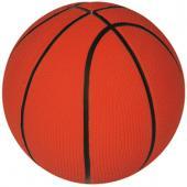 Мяч для собак баскетбольный с наполнением латекс 13 см