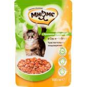Паучи для взрослых кошек с кроликом в соусе