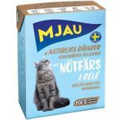 Консервы для кошек мясные кусочки в желе с рубленой говядиной