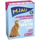 Консервы для кошек мясные кусочки в желе с лангустом