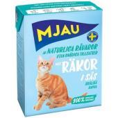 Консервы для кошек мясные кусочки в соусе с креветками