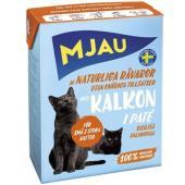 Консервы для кошек мясной паштет с индейкой