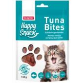Лакомство для котят Happy Snack Мягкие чипсы из тунца