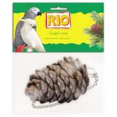 Лакомство-игрушка Кедровая шишка для птиц