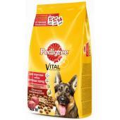 Сухой корм для собак крупных пород с говядиной, рисом и овощами