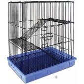 Клетка для животных, 2 полки 55,5*37*64 см (С1)