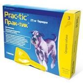 Практик капли от блох и клещей для щенков и собак: 11-22кг, 3пипетки
