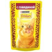 Кусочки в подливе c Говядиной для кошек