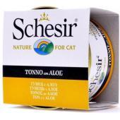 Консервы для кошек с тунцом и алое С143
