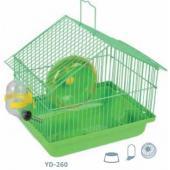 Клетка  для мелких грызунов, 22,5*17*21,5 см (YD-260)