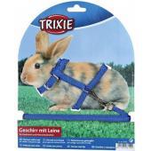Шлейка с поводком для кроликов и морских свинок (6150)