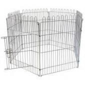 Клетка - загон для щенков, 6 секций 60*80см (Puppy cage 6 panels)