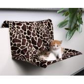 """Гамак """"Жираф"""" на радиатор для кошки: 48*28*30см (43208)"""