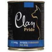 Clan Pride консервы для собак (с говяжьим рубцом)