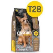 Беззерновой корм для щенков и собак мелких пород с лососем и форелью T28 Nutram  GF SB Salmon & Trout Dog Food