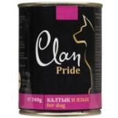 Clan Pride консервы для собак (с говяжьим калтыком и языком)