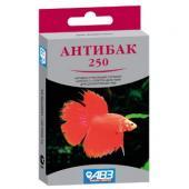 Антибак 250 лечебный препарат для рыб 6 табл.