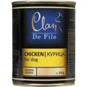 Clan De File консервы для собак (с курицей)
