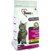 Корм беззерновой для кастрированных и стерилизованных кошек «Курица с бататом» (Срок - 01.11.20)