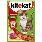 Паучи с говядиной в желе для  кошек