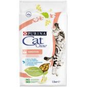 Для кошек с лососем и рисом  для чувствительного пищеварения( Adult Sensitive)