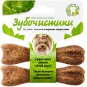 """""""Зубочистики"""" для собак мелких пород со вкусом морских водорослей"""