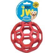 Ажурный резиновый мяч средний, 11,5 см (JW Pet HOL-EE ROLLER MEDIUM)