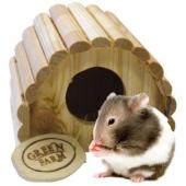 Дом полукруглый для мелких грызунов 9,5*10,5*8,5 см