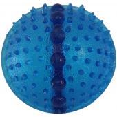 Мяч с шипами, с полостью для лакомства 6,3 см, резина (TPR-01)