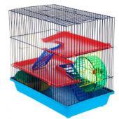 Клетка для грызунов  3-х этажная (135) комплект, 35*28*27 см