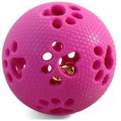 Мяч-лапки с колокольчиком 7 см, резина (TPR-16)