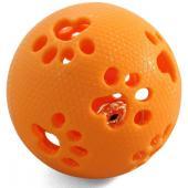 Мяч-лапки с колокольчиком 8 см, резина (TPR-17)