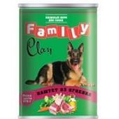 Clan Family консервы для собак (паштет из ягненка)